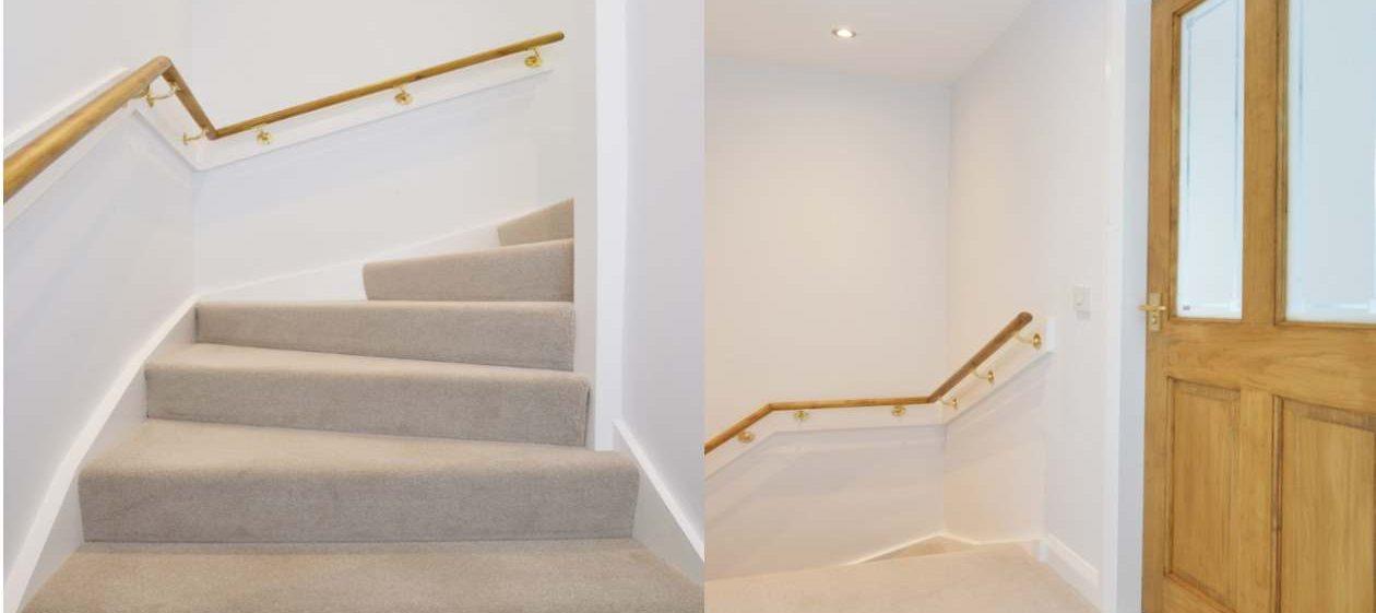 stairway in velux conversion
