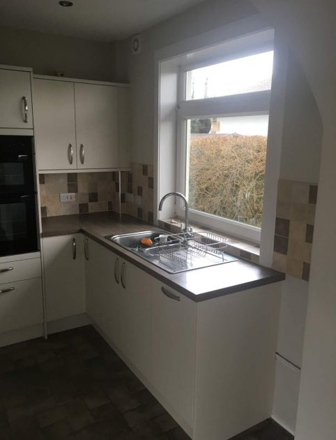 Utility room and kitchen renovation